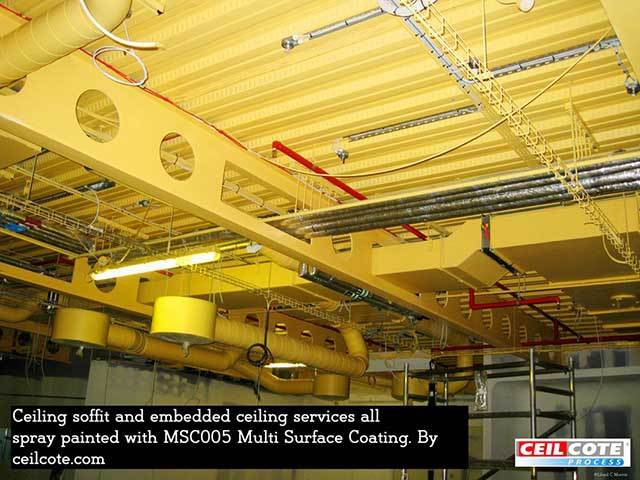 Spray Paint Soffits with MSC005 Multi Surface Coating
