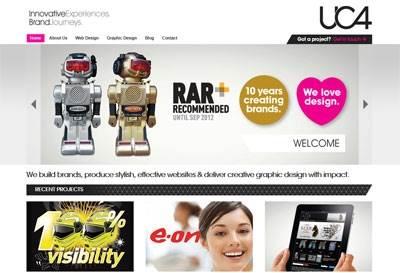 uc4 ltd for Website Design & Development