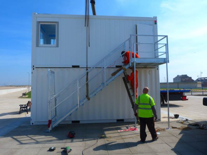 Container Conversions - Lifeguard Station