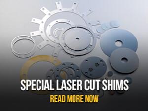 Laser Cut Shims