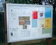 Classic Landscape Notice Board