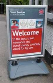Windproof Pavement Sign