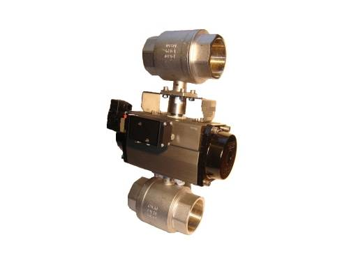 Two BSP Brass Ball Valves