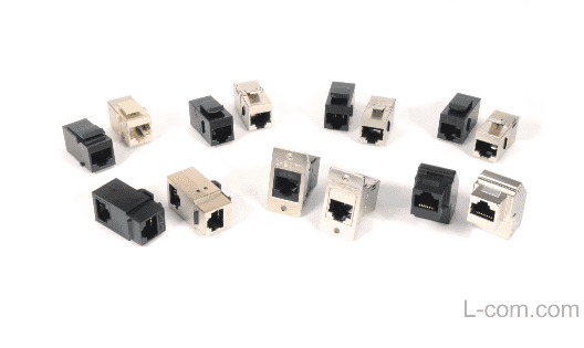 RJ45 COUPLERS FROM L-COM