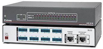 Extron's New Audio Expansion Interface easily adds 16 Audio Outputs