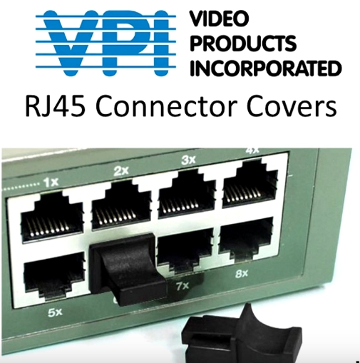 What are the different types of RJ45 connector covers?