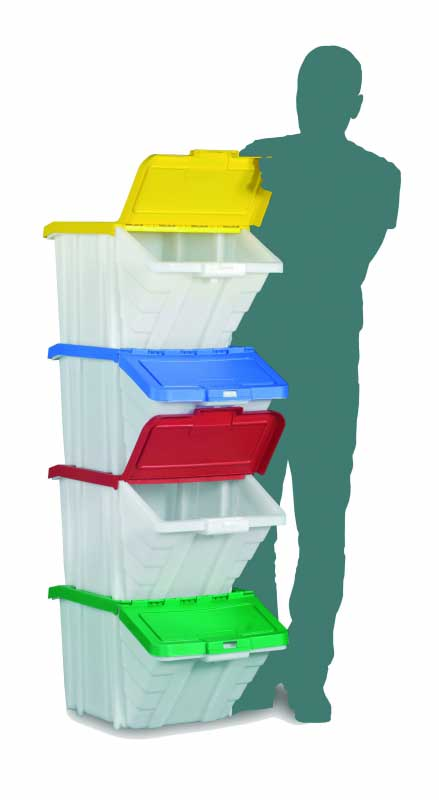 Open Fronted Plastic Picking Bins and Boxes