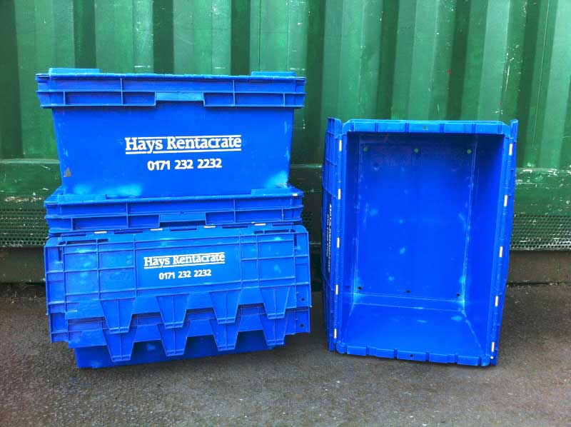 Used and Second Hand Plastic Storage Boxes & Crate