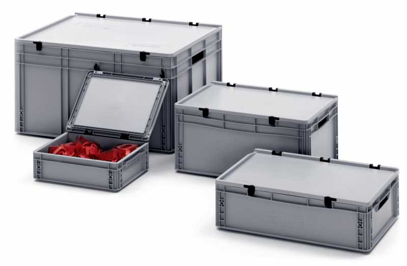 Solent Plastics Plastic Stacking Crates Stacking Plastic