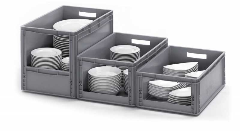 Open Fronted Order Picking Stacking Containers