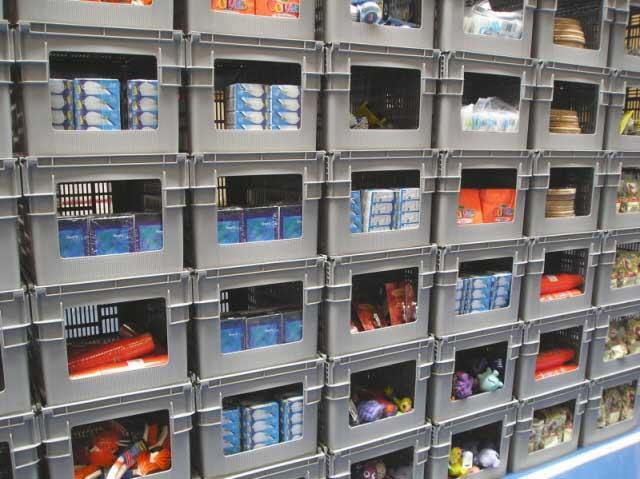 Curtec Industrial Stack Nest Order Pick Crates