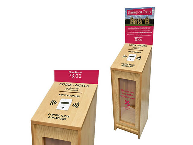 Contactless Fundraising Boxes
