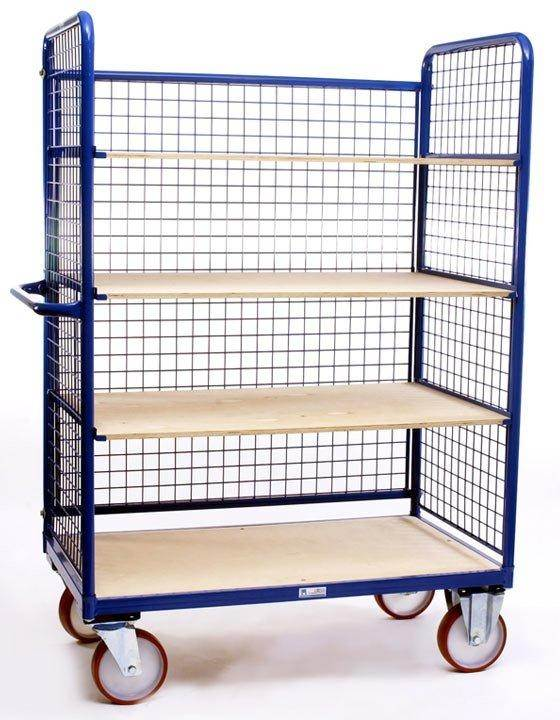 Caged Turntable Trolley