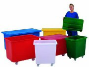 Coloured Plastic Moulded Trucks
