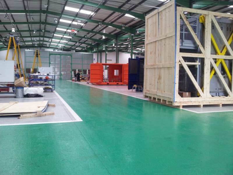 Nu-Base HB Epoxy Applied at Calder Pressure Systems
