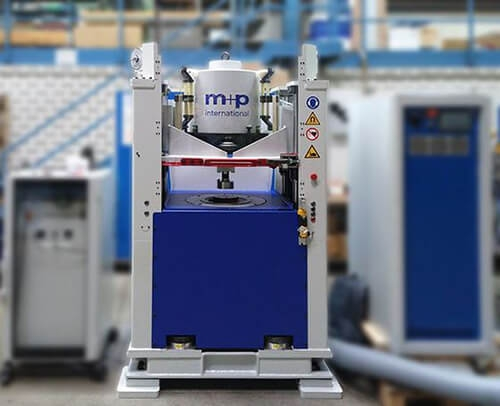 High-Frequency Test Rig for Elastomer Mounts Delivered to Asia