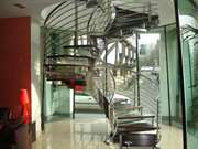 Custom Helical Staircases