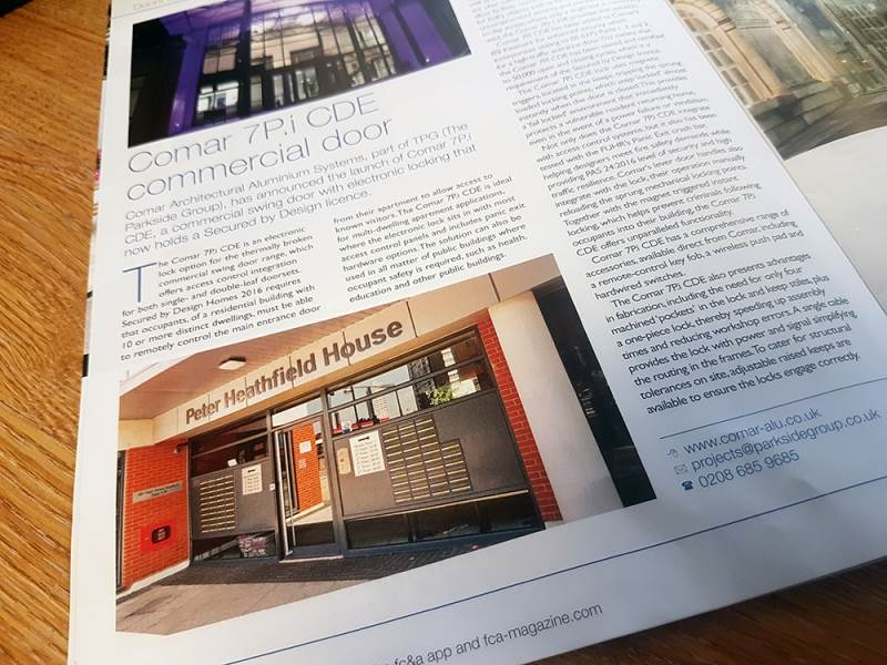 Peter Heathfield House Project Featured in Magazine