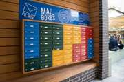 Colourful H1 mailboxes for student accommodation
