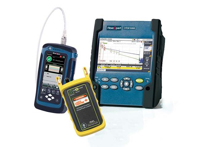 Cable Testers for Copper & Fibre Networks