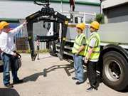 Wallace Lorry Loader Crane Training and Explanatio