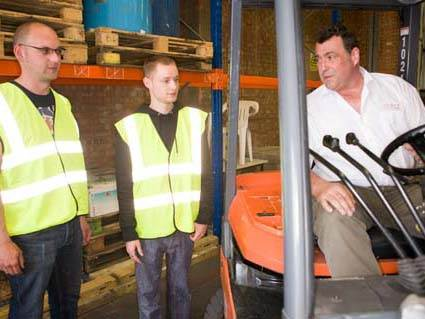 Wallace Counterbalance Forklift Licence