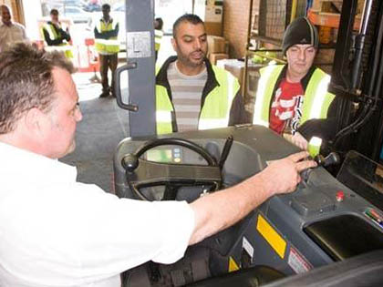 Forklift Truck Training in London