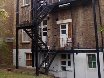 Multi Level Fire Escapes