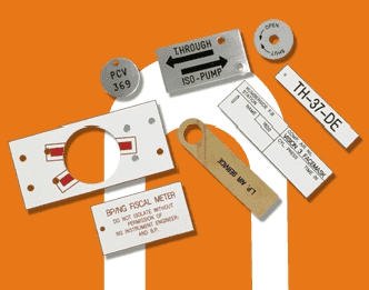 Engraved Labels, Tags and Nameplates
