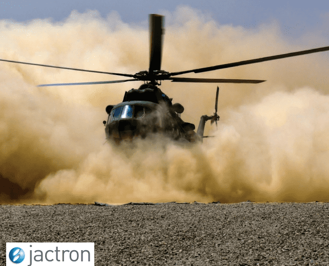 Jactron feature in Defence Industry Report