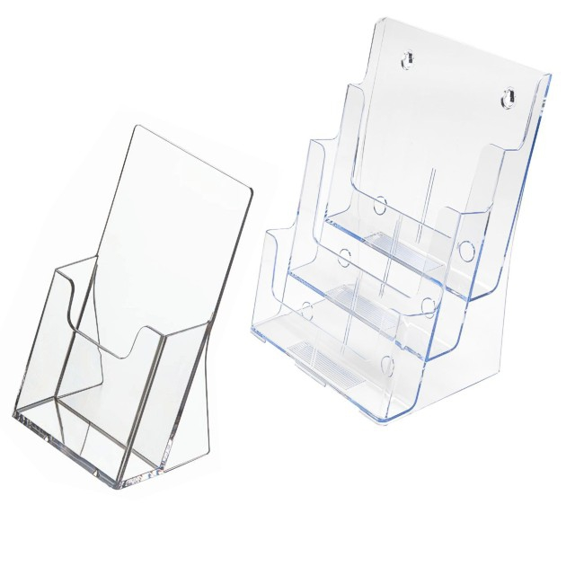 Brochure holders acrylic leaflet holders