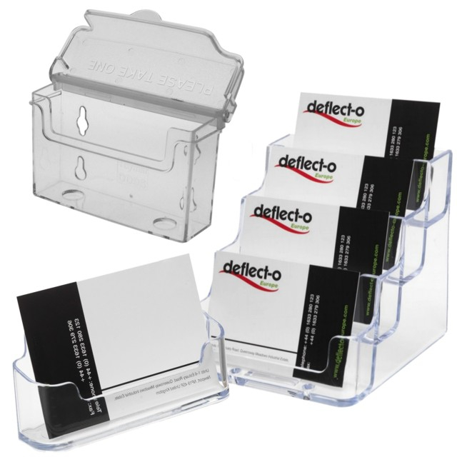Business card holders dispensers