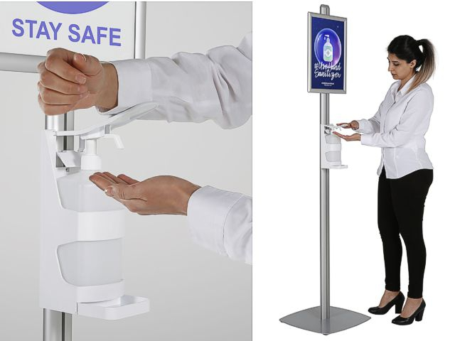 Hand Sanitiser Stations