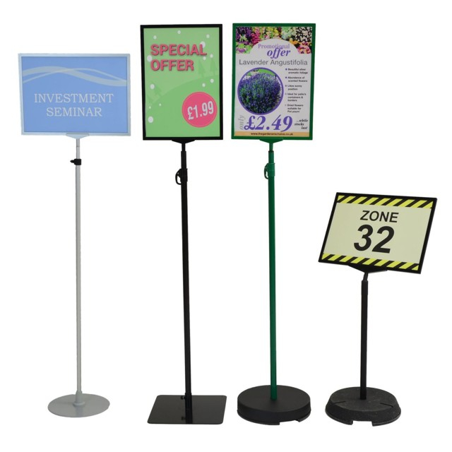Portable signs floor standing signage