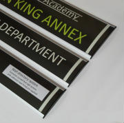 Directional sign signage system