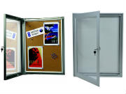 External notice boards for outdoor