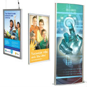 Graphic light box illuminated signs