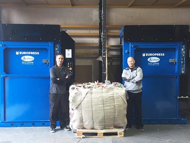 Mill Size Europress Balex 50 Waste Balers