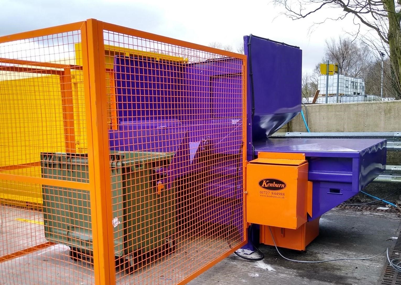 Industrial Waste Compactors (Cardboard & Plastic)