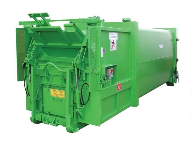 Roll on Roll off Portable Compactor