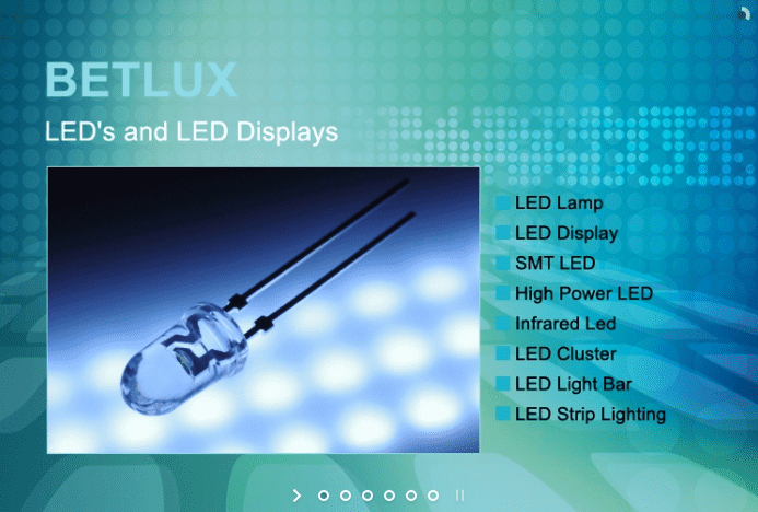 BETLUX - LED's & LED Displays