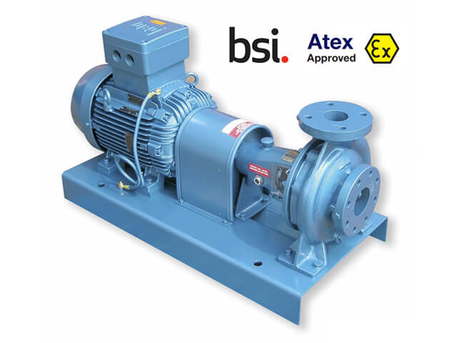 ATEX Certified Centrifugal Pumps