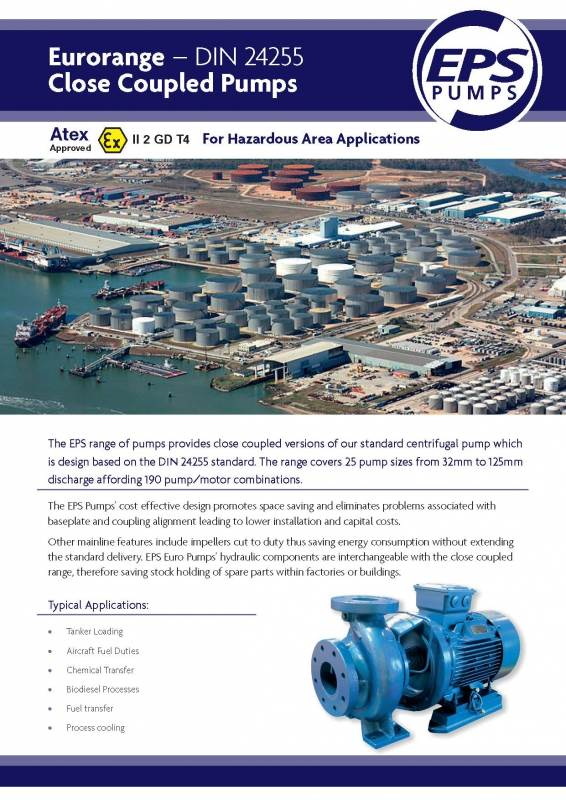 We manufacture Ex ATEX pump in the UK