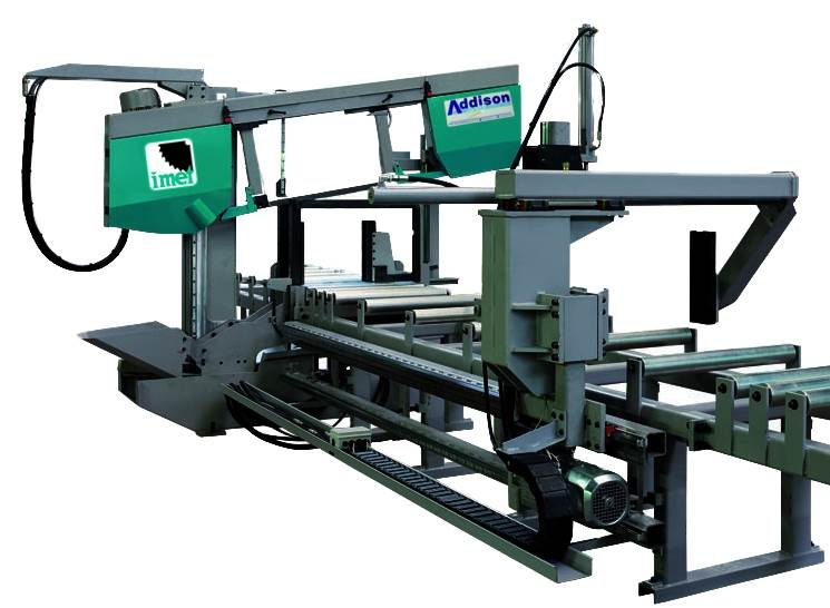 A THIRD IMET BANDSAW FOR B+M STEEL