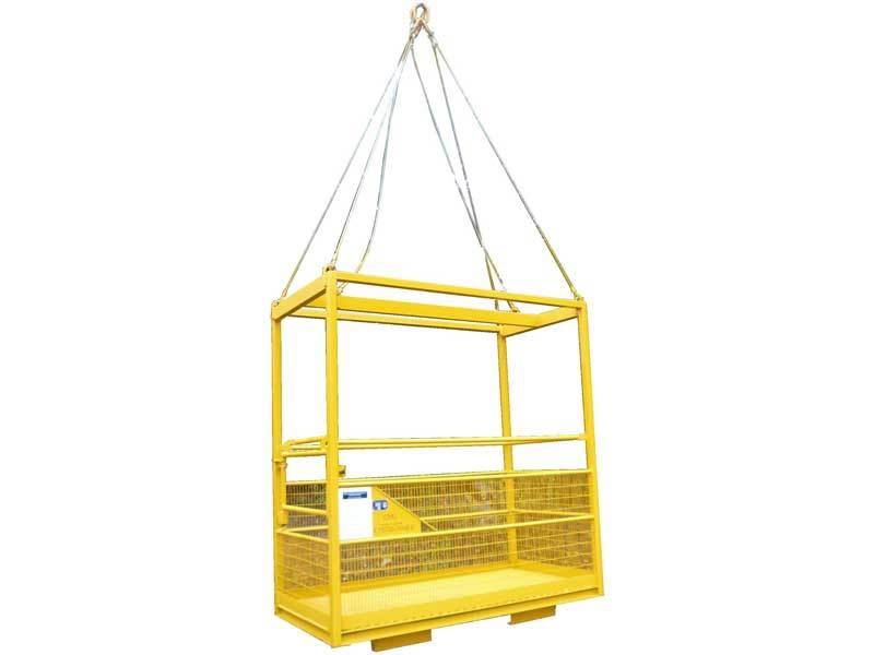 Whitney Engineering Concrete Skips Forklift Skip