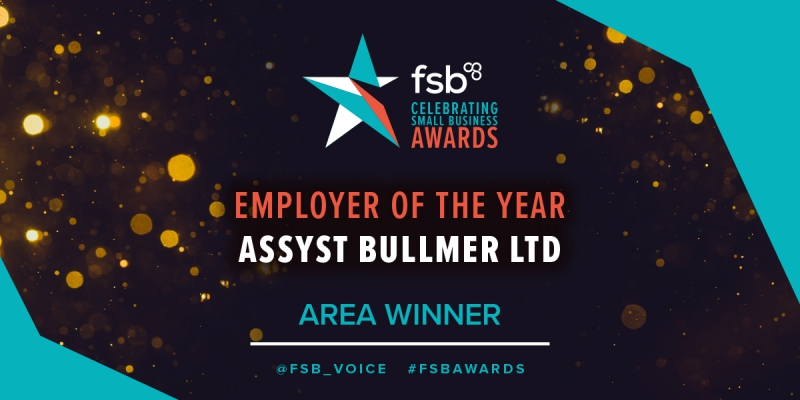 Assyst Bullmer is Employer of the Year