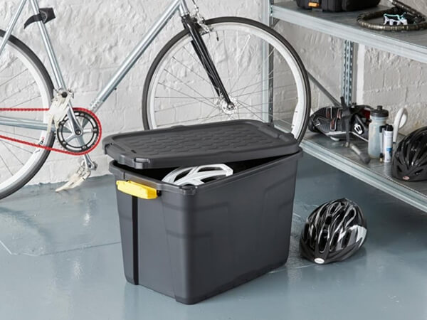 Heavy Duty Storage Trunk Boxes - recycled plastic