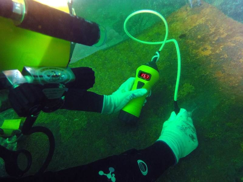 Diver Thickness Meter