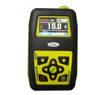 New Tritex Multigauge 5650 Surveyor Thickness Gauge