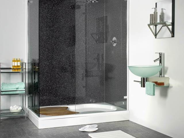Shower Wall Boards, Faster & Easier Than Tiling